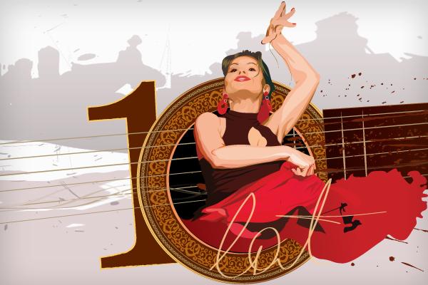 Flamenco - ikona wpisu