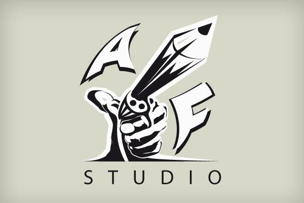 Projekt loga AF-Studio ikona