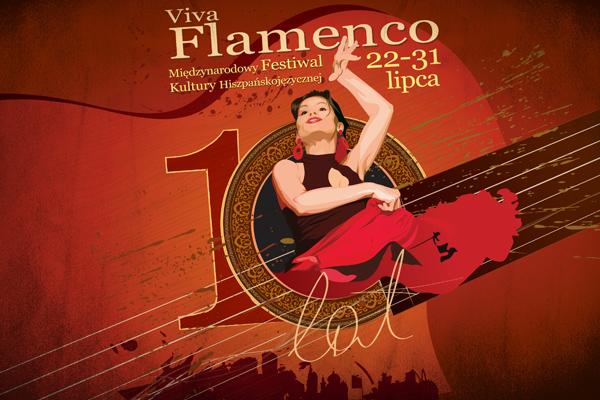 Festiwal Viva Flamenco 2011 grafika