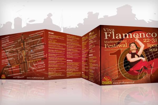 Festiwal Viva Flamenco 2011 folder