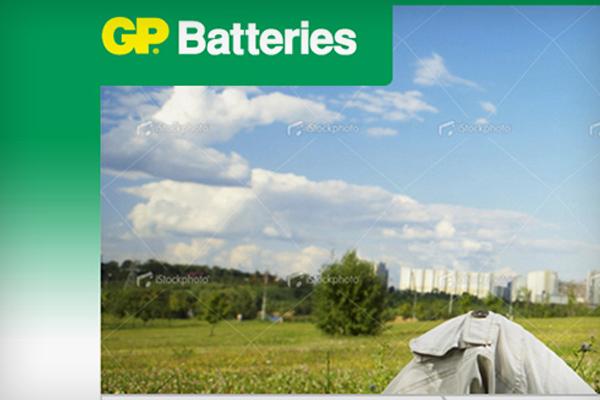 Strona www GP Batteries