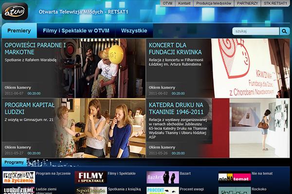 Telewizja Retsat serwis internetowy