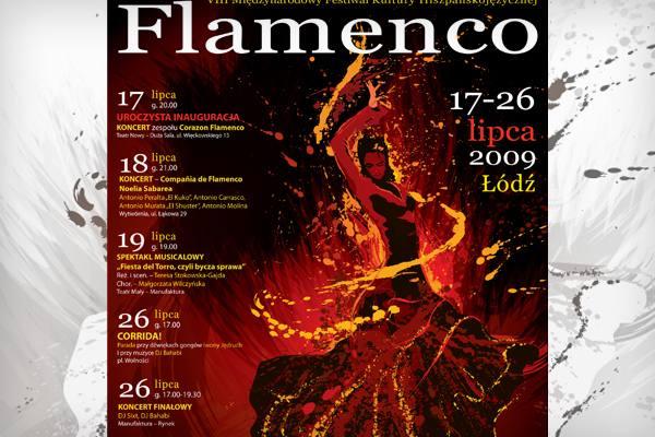 Festiwal Flamenco plakat
