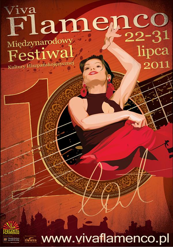 Festiwal Viva Flamenco 2011 plakat