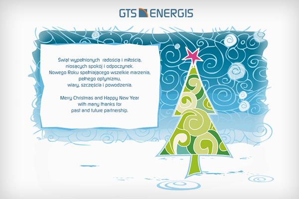 Kartka świąteczna dla GTS