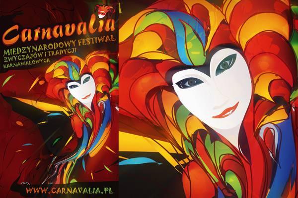 Festiwal Carnavalia projekty plakat/rollup