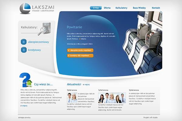 Lakszmi projekt storny www