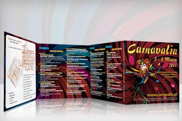 Festiwal Carnavalia folder