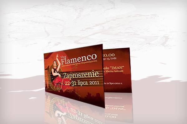 Festiwal Viva Flamenco 2011 zaproszenie